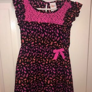 Girls cheetah print dress